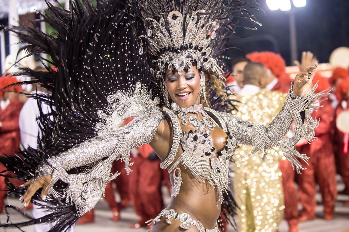 Tag til karneval i Rio de Janeiro