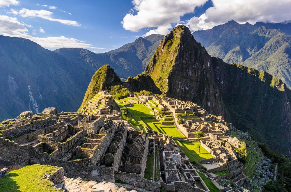 Machu Picchu i Peru er et besøg værd